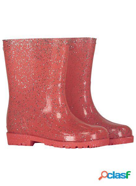 Hema bottes de pluie enfant rose (rose)