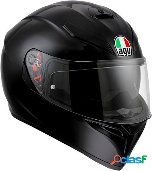 Agv k3 sv mono, casque moto intégral, noir