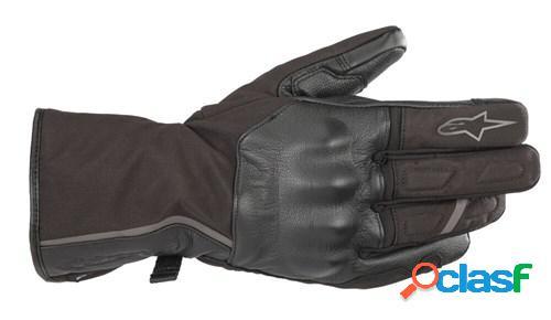Alpinestars tourer w-7 drystar, gants moto d'hiver, noir