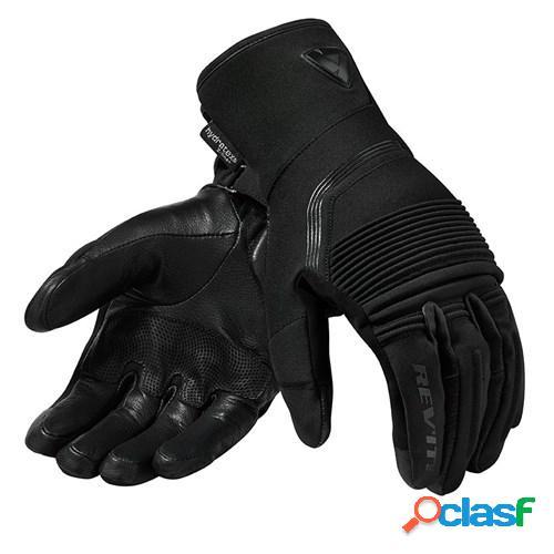 Rev'it! drifter 3 h2o, gants moto mi-saison, noir