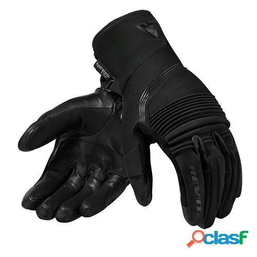 Rev'it! drifter 3 h2o lady, gants moto mi-saison, noir
