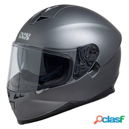 Ixs 1100 1.0, casque moto intégral, mat titane