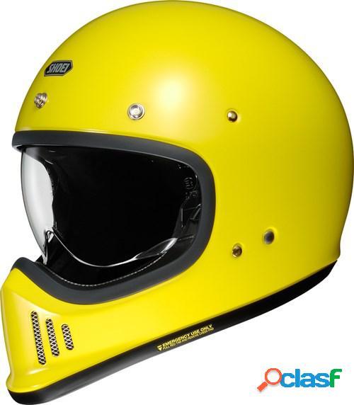 Shoei ex-zero, casque moto intégral, jaune