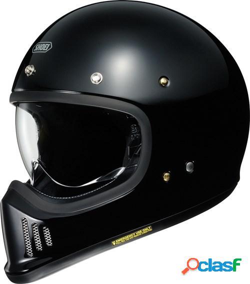 Shoei ex-zero, casque moto intégral, noir