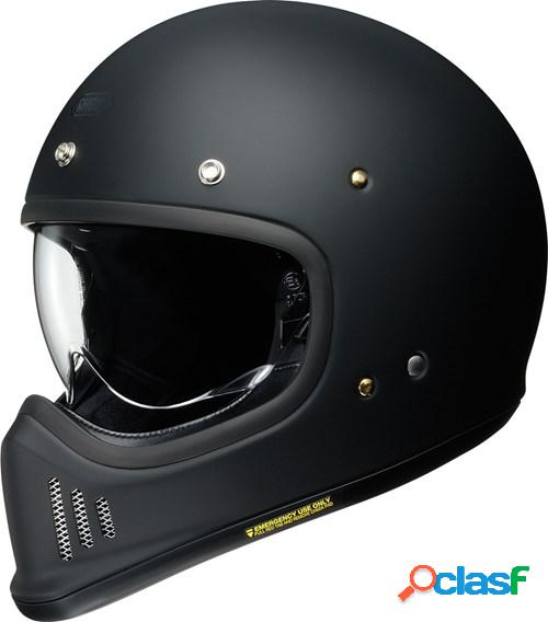 Shoei ex-zero, casque moto intégral, noir mat