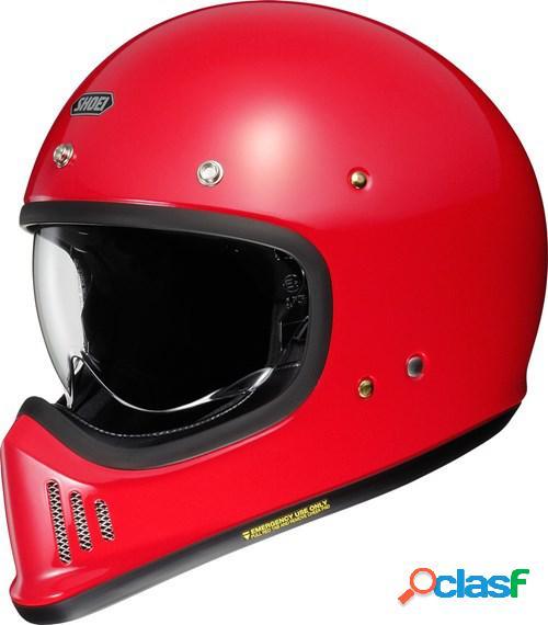 Shoei ex-zero, casque moto intégral, rouge