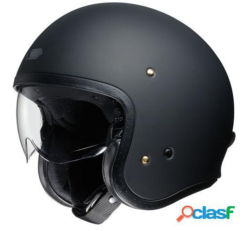 Shoei j.o, casque moto jet, noir mat