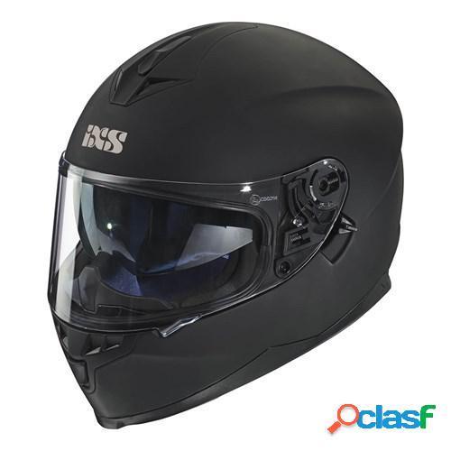 Ixs 1100 1.0, casque moto intégral, mat noir