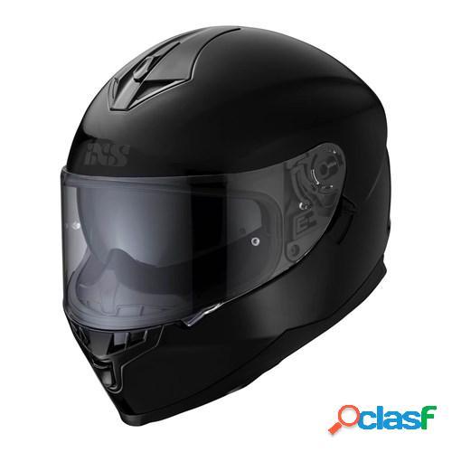 Ixs 1100 1.0, casque moto intégral, noir