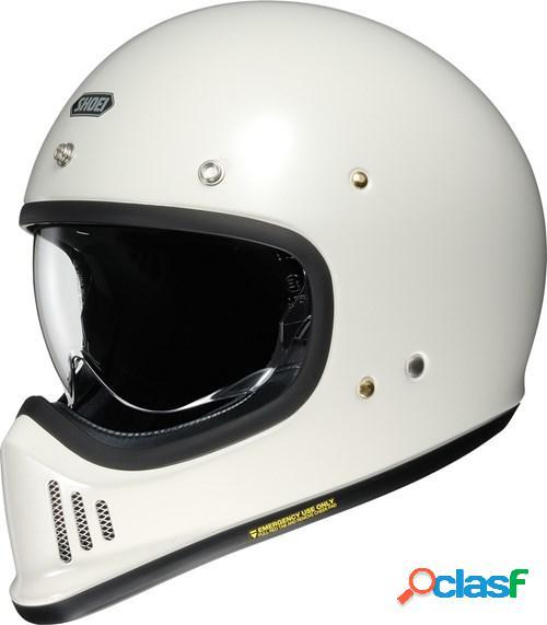 Shoei ex-zero, casque moto intégral, blanc cassé