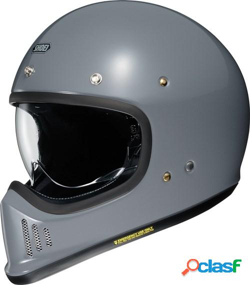 Shoei ex-zero, casque moto intégral, gris basalt