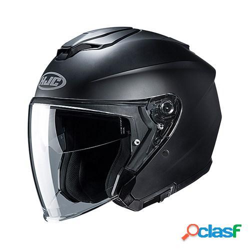 Hjc i30, casque moto jet, noir mat