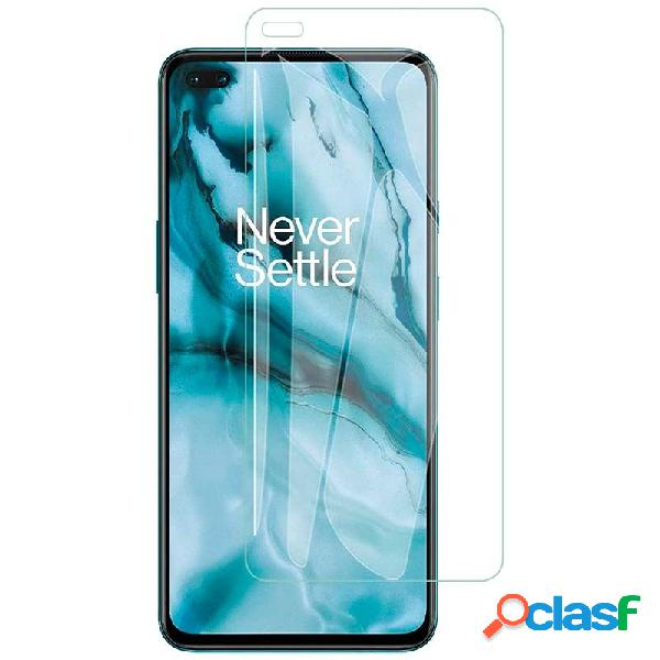 Protection d'écran kisswill pour oneplus nord cen verre trempé de 0.3