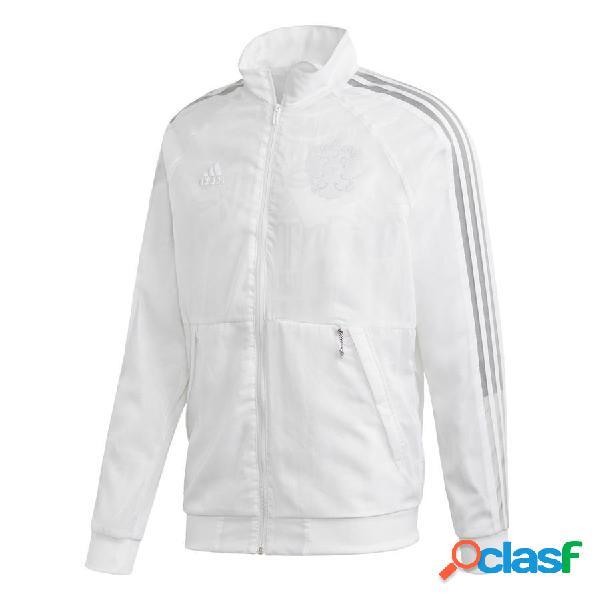 adidas Veste Anthem Russie Uniforia Blanc