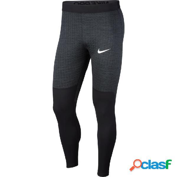Nike Pro Collant Compression Utility Therma - Noir/gris/blanc