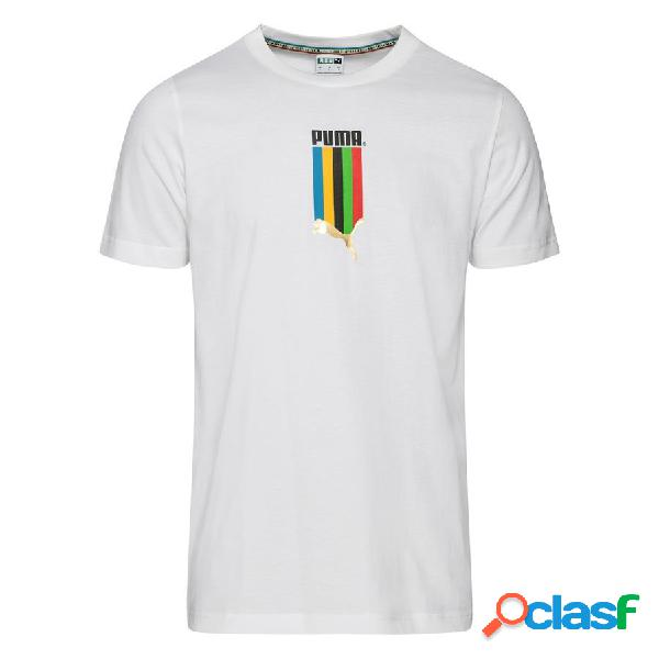 PUMA T-shirt Tailored For Sports Graphic - Blanc