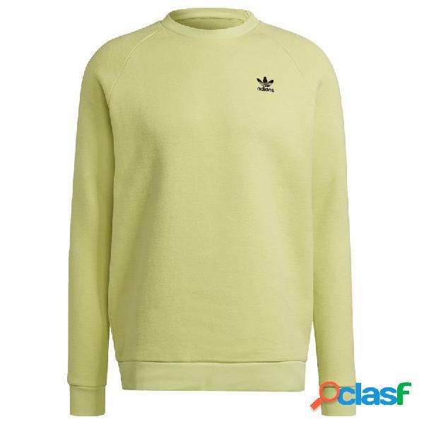 Sweat-shirt Adicolor Essentials Trefoil Crewneck Jaune - adidas