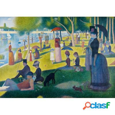 Georges Seurat - A Sunday Afternoon on the Island of La Grande Jatte, 1886