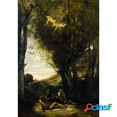 Jean-Baptiste-Camille Corot: Saint Sebastian Succored by the Holy Women, 1874
