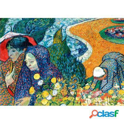Vincent Van Gogh - Memory of the Garden at Etten (Ladies of Arles), 1888