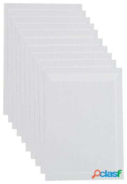 Hema 10 enveloppes c4 (blanc)