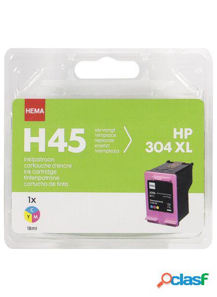 Hema la hema h45 couleur remplace la hp 304xl couleur