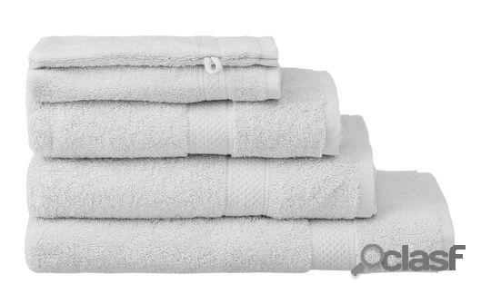 Hema serviettes de bain - qualité épaisse gris clair (gris clair)