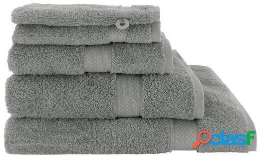 Hema serviettes de bain - qualité épaisse gris moyen (gris moyen)
