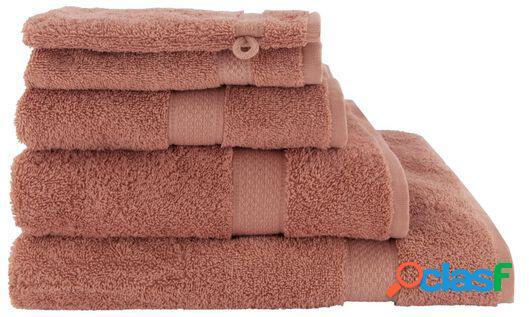 Hema serviettes de bain - qualité épaisse vieux rose (vieux rose)