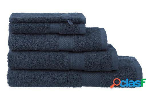Hema serviettes de bain - qualité épaisse denim (denim)