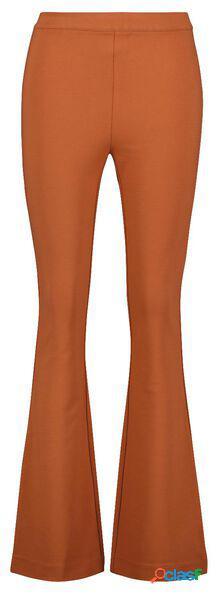 Hema pantalon femme marron (marron)