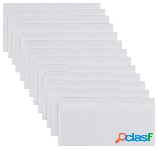 Hema 100 enveloppes dl (blanc)