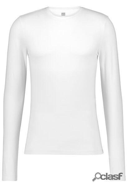 Hema t-shirt homme slim fit blanc (blanc)