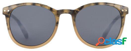 Hema lunettes de soleil femme marron/rose (multi)
