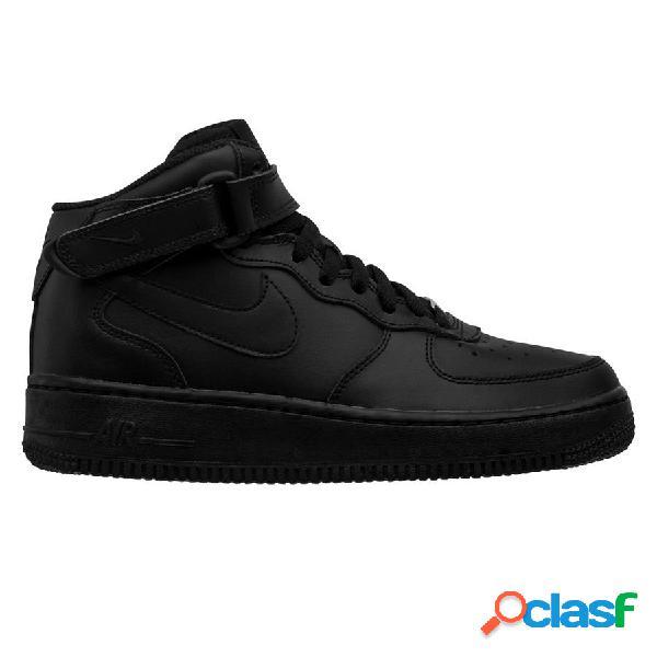 Nike chaussures air force 1 mid - noir/noir enfant