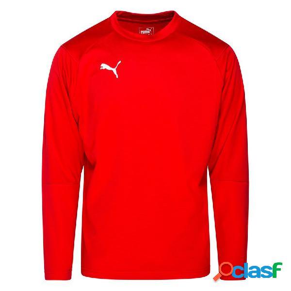 Puma maillot d'entraînement liga sweat - rouge/blanc