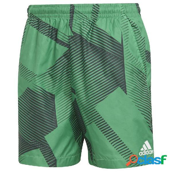 Short adidas sportswear graphic multicolore