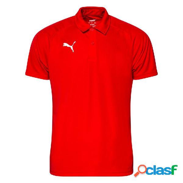 Puma polo liga sideline - rouge/blanc