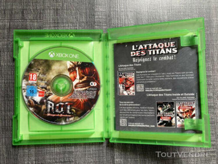 A.o.t aot attack on titan xbox one fr