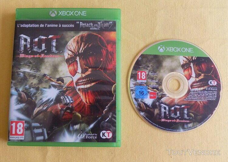 Attack on titan a.o.t kings of freedom xbox one