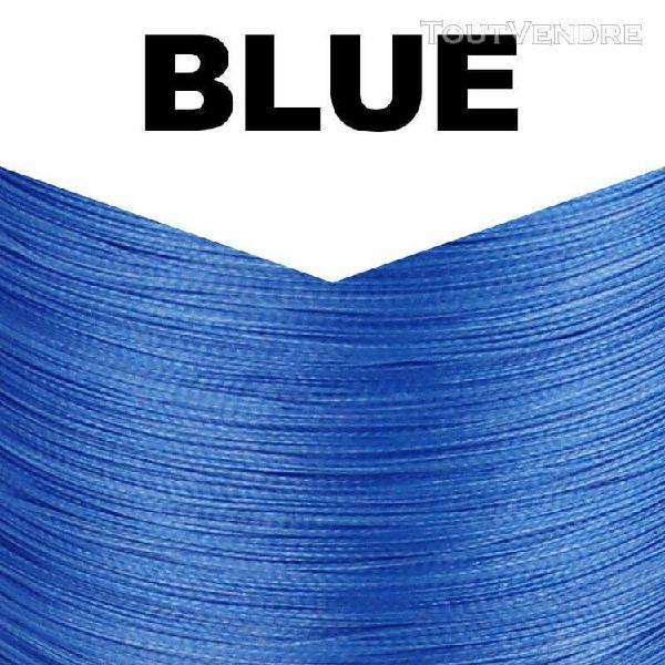 Blue-300m 30lb -fil de pêche tressé 8