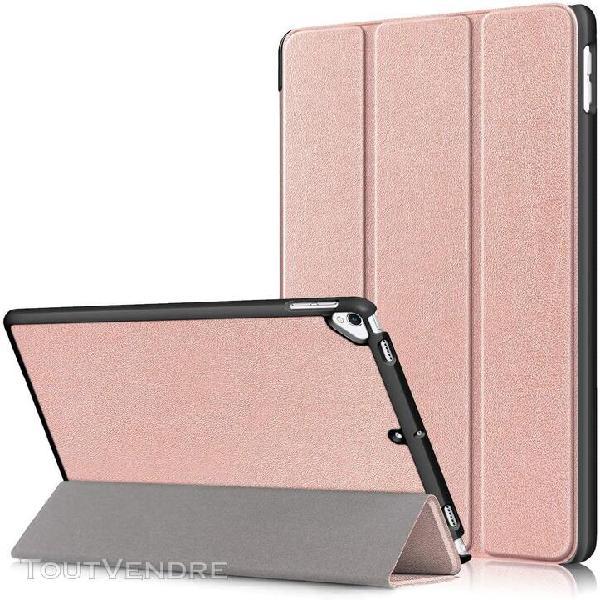 Etui pour apple ipad 10.2 2020 tablette etui en cuir pu avec