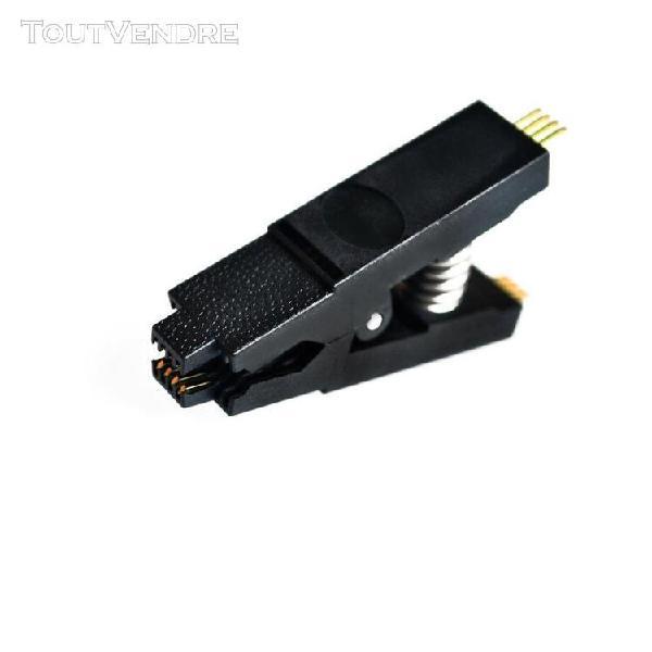 Only testing clip -ch341a 24 25 série eeprom flash bios usb