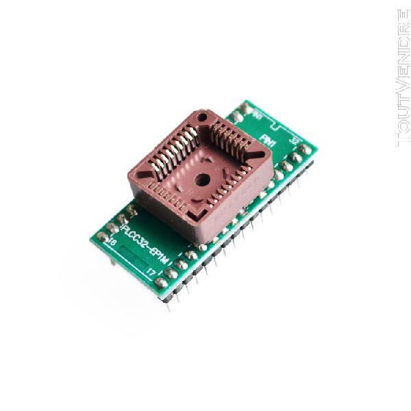 Plcc32 -adaptateur de programmeur ic universel plcc32 à