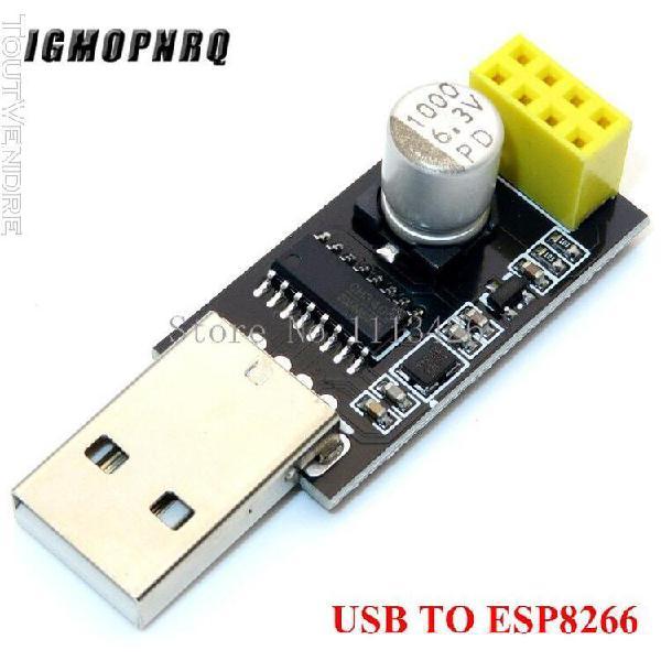 Usb to esp8266 -adaptateur de programmeur esp01, module de c