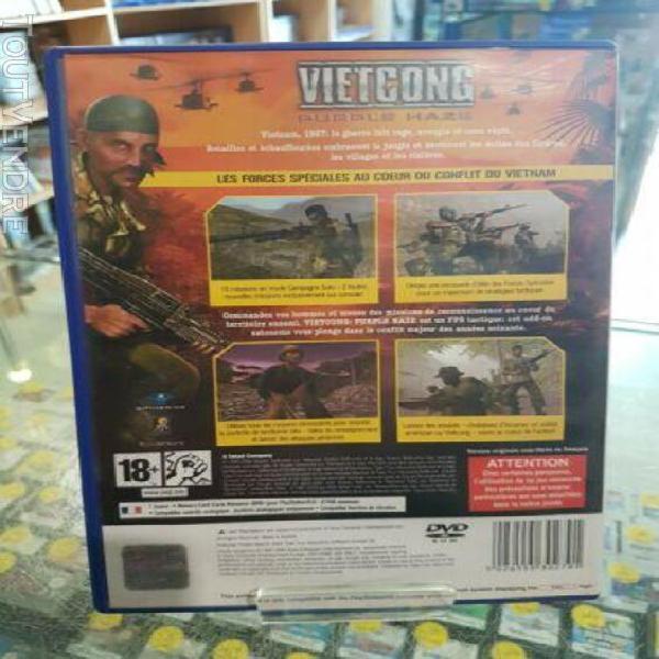 Vietcong purple haze - jeu ps2. version francaise.