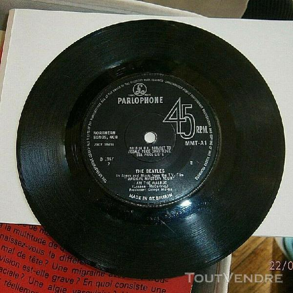 """The beatles magical mystery tour ep - 1st - solid uk 7"""" viny"""