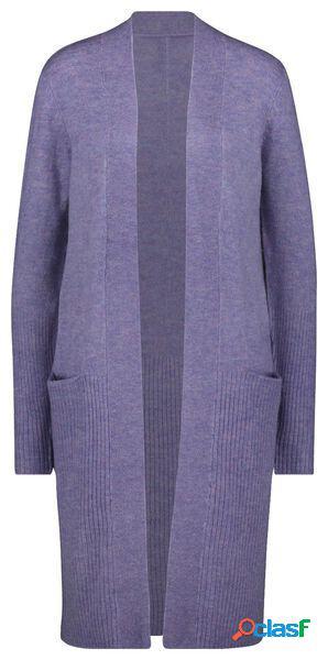 Hema gilet femme violet (violet)
