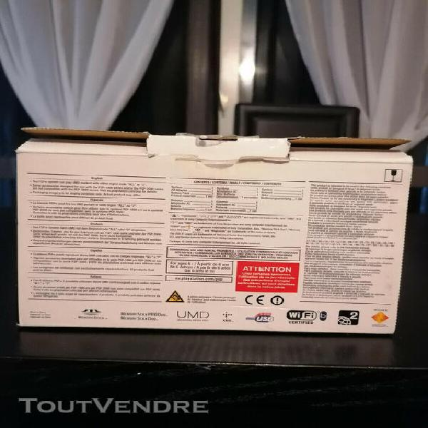 Boîte vide sony psp piano black playstation portable slim &