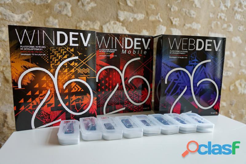 Windev, Webdev et Windev Mobile 26